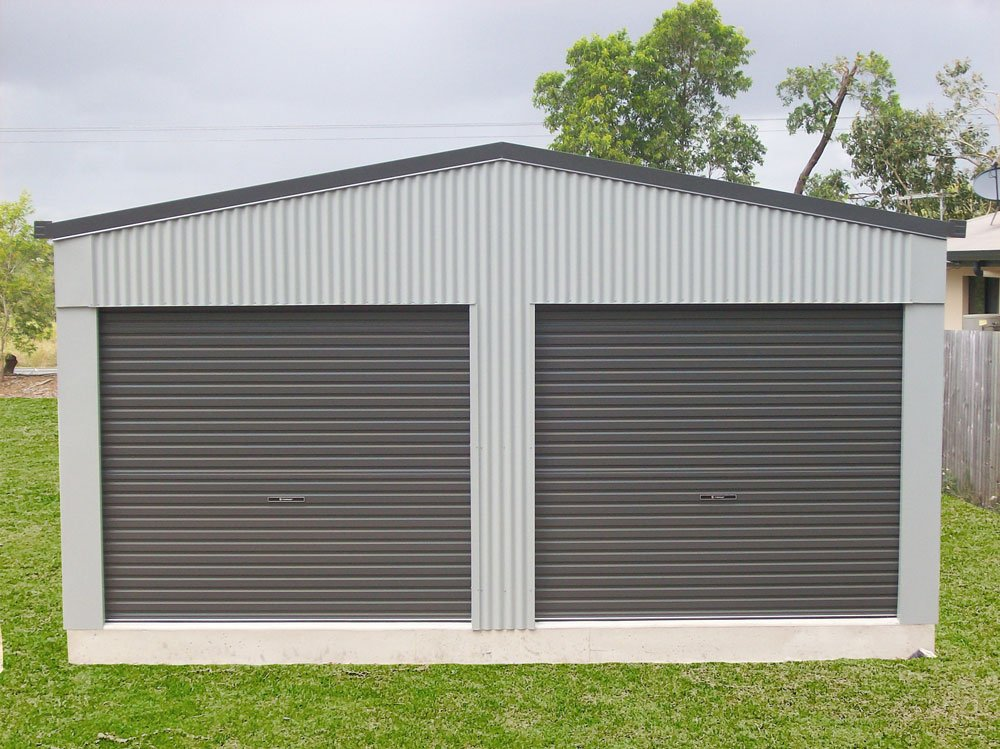 2 Bay Domestic Shed
